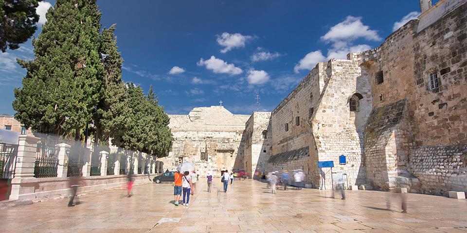 Fødselskirken i Betlehem.