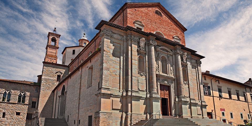 Det nordlige Umbriens største by Città di Castello