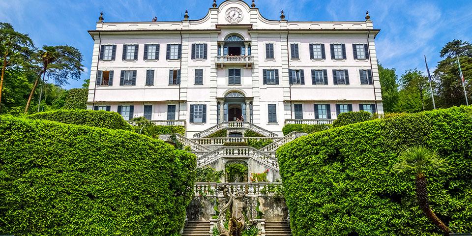 Den smukke Villa Carlotta.