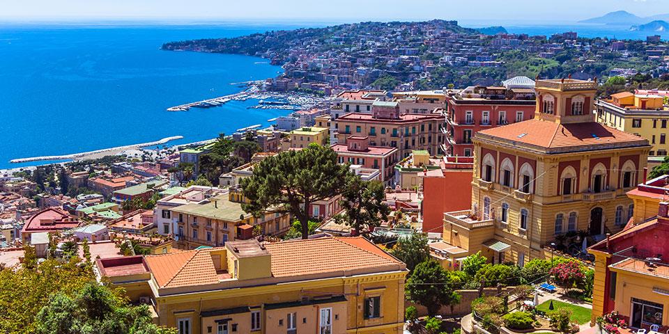 Farverige Napoli.