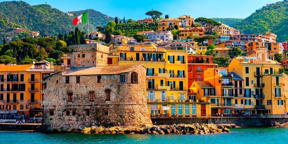 Farverige Rapallo.