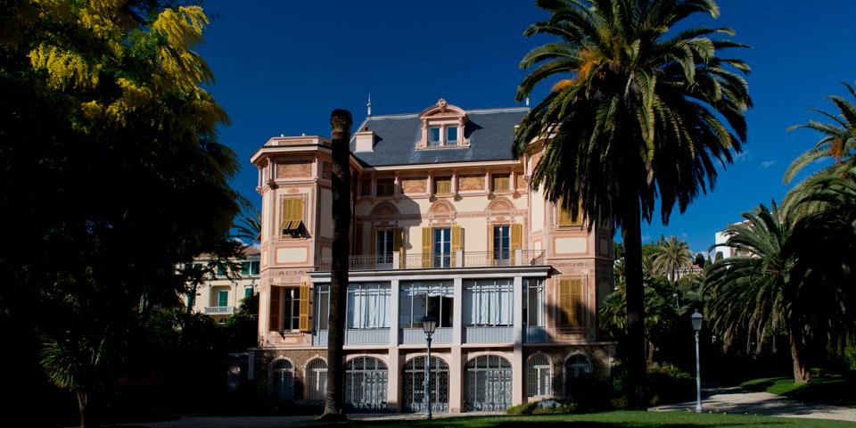 Villa Nobel lidt uden for Sanremo.