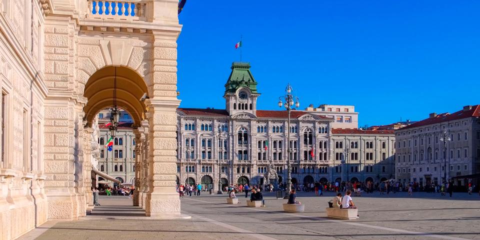 Piazza Grande i Trieste.