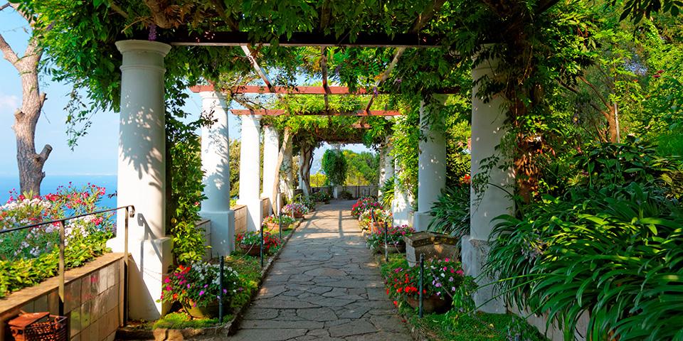 Den smukke have ved San Michele.