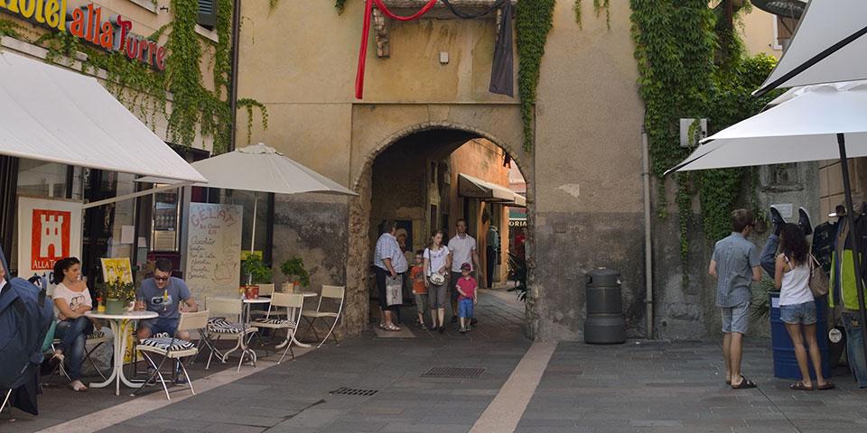I Garda finder du mange hyggelige gader.