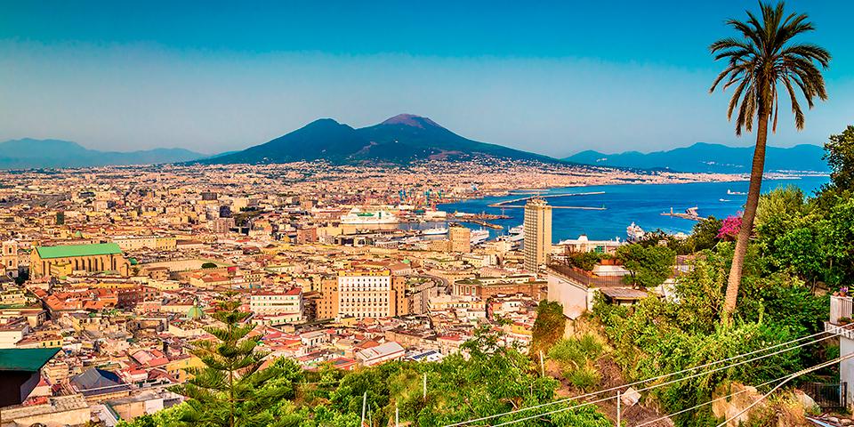Udsigt over Napoli.