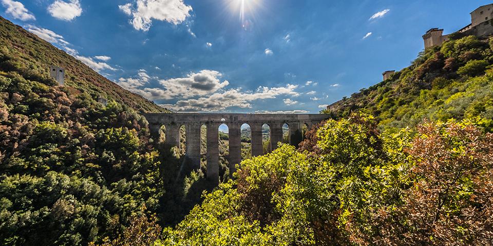 Akvædukten i Spoleto.
