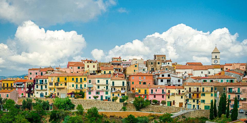 Capoliveri på Elba.