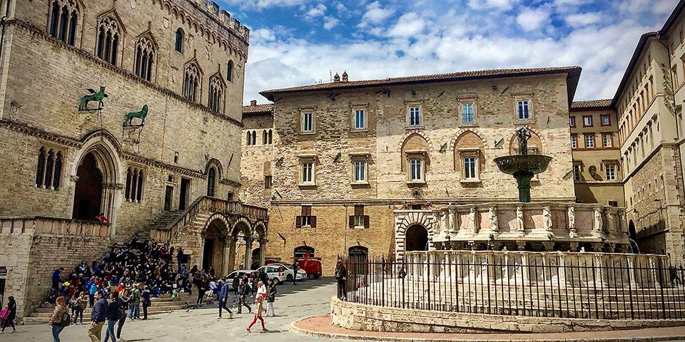 Betagende Perugia.