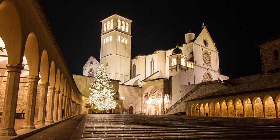 Julestemning i Assisi.