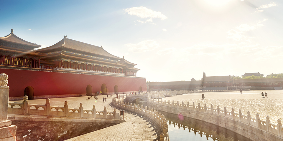 Den forbudte by i Beijing.