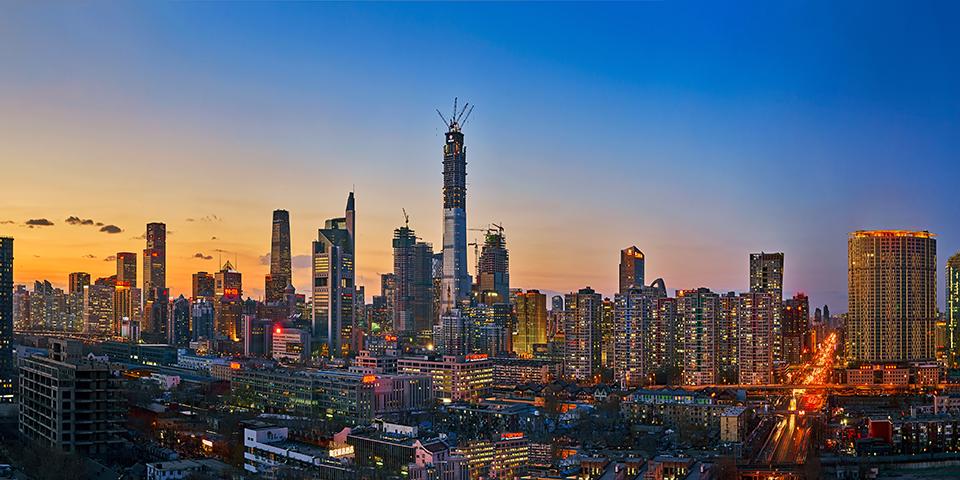 Beijing by night.