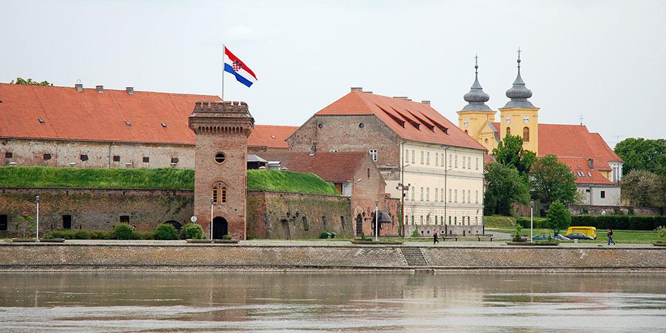 Habsburg-fæstningen i Osijek.