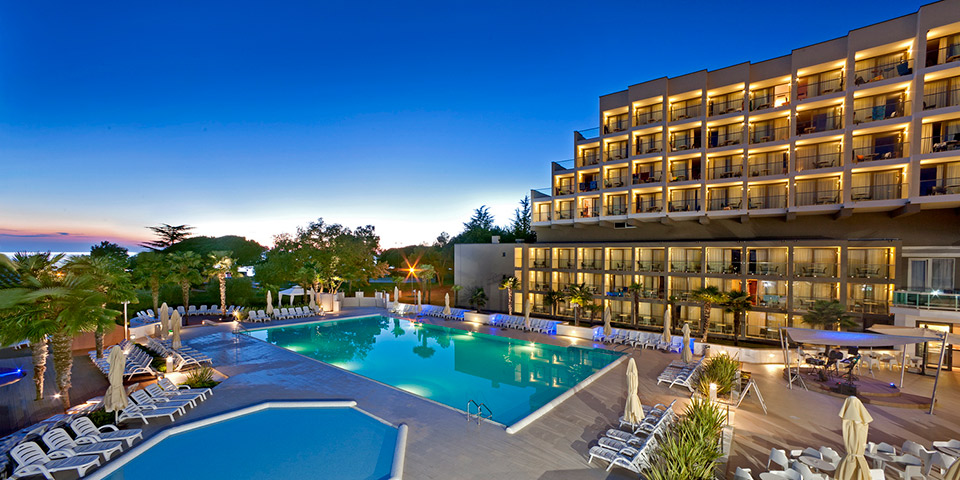 Aftenstemning på Hotel Laguna Materada.