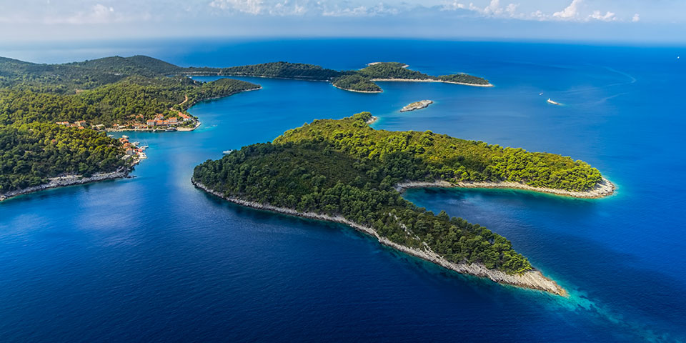 Mljet Nationalpark.