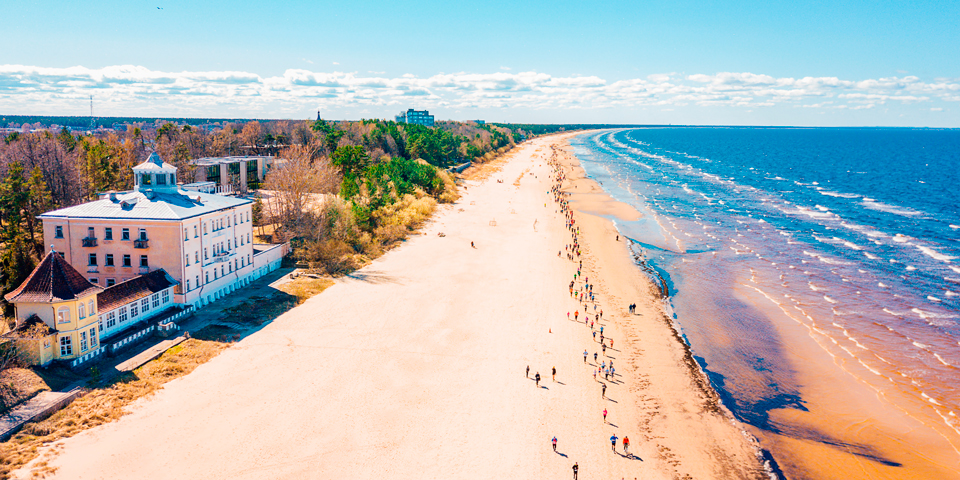 Jurmala, Letlands Riviera.
