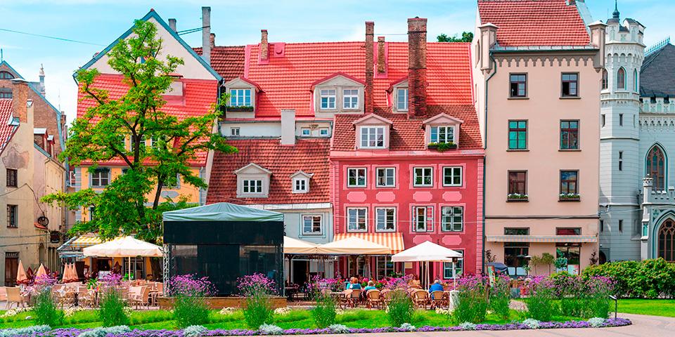 Rigas charmerende gamle bydel.