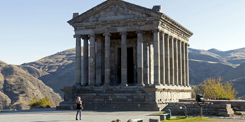 Garni-templet udenfor Jerevan.