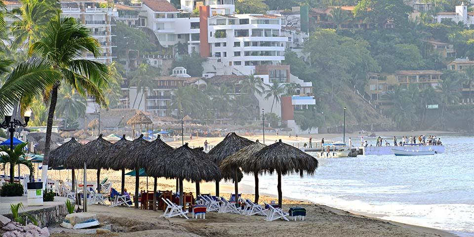 Stranden i Puerto Vallarta.