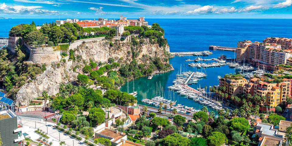 Udsigt over Monaco.