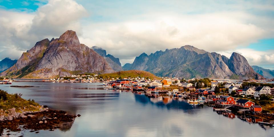 Reine - en af verdens måske smukkeste byer.