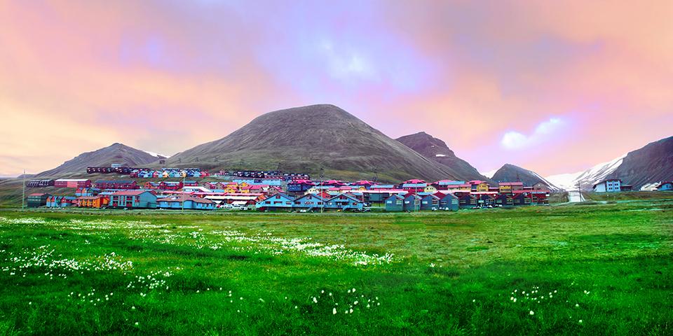 Velkommen til Longyearbyen.