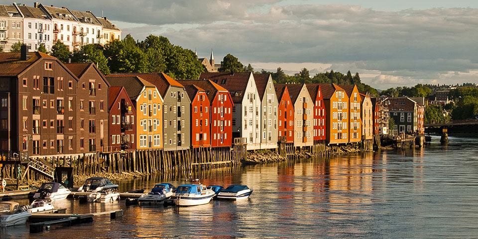 Hyggelige Trondheim.