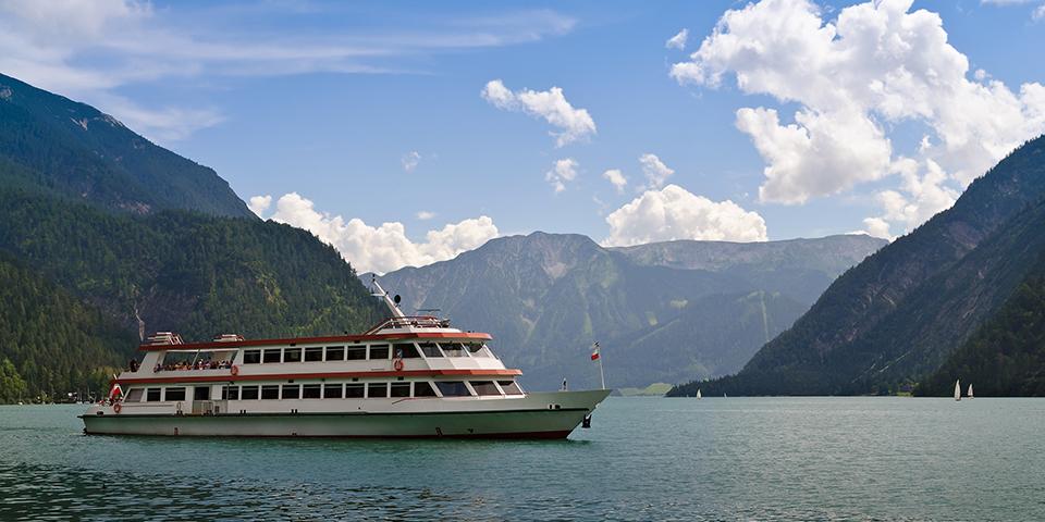 Sejltur på Achensee i Østrig.