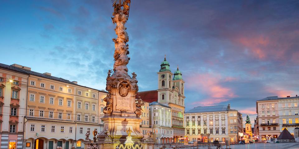 Treenighedssøjlen i Linz.