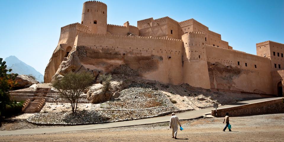 Fortet i landsbyen Nakhl.