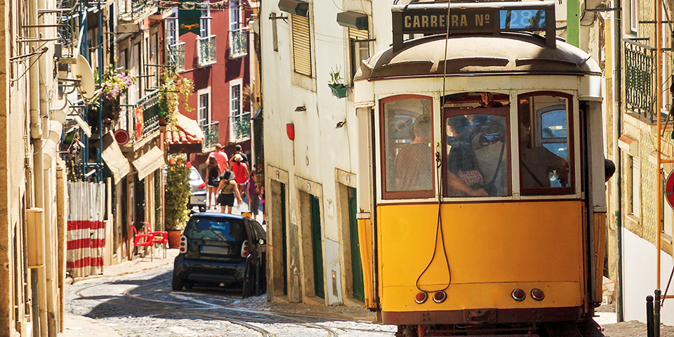 Velkommen til Lissabon.