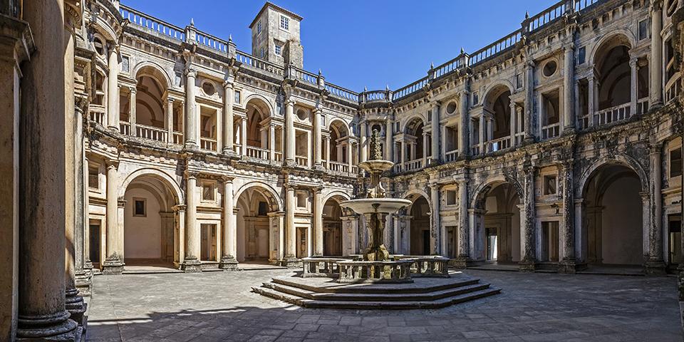 Convento de Cristo i Tomar.