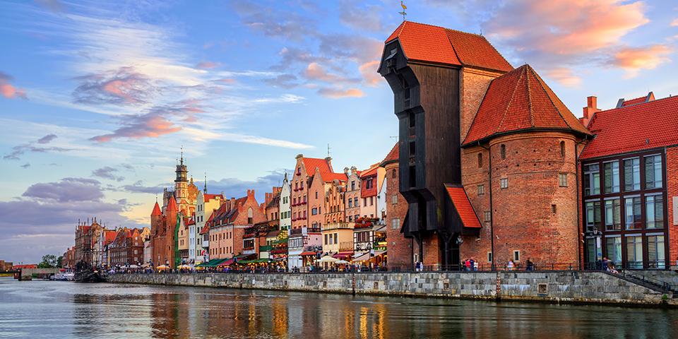 Den flotte havn i Gdansk.