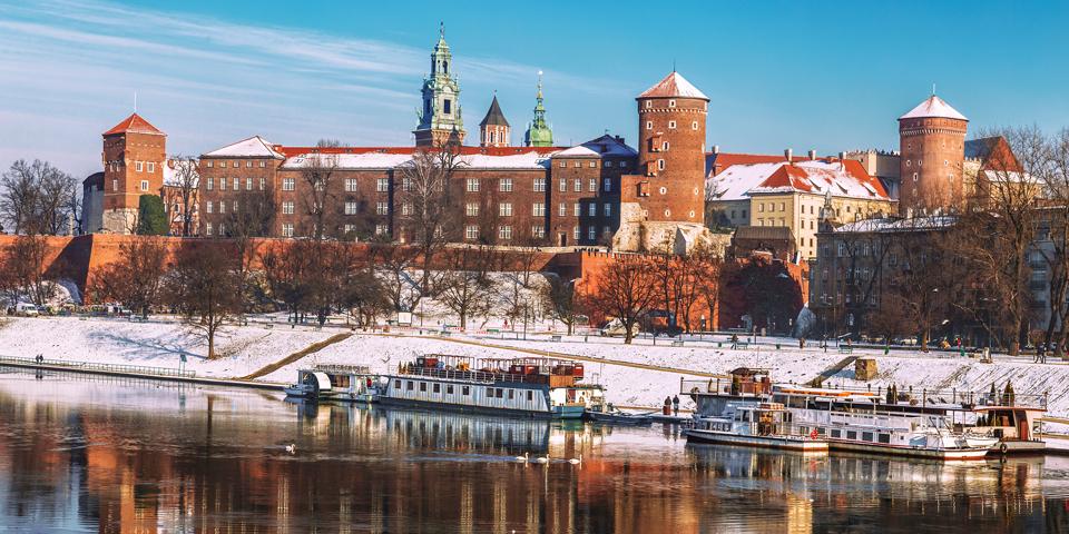 Polens smukkeste by Krakow.