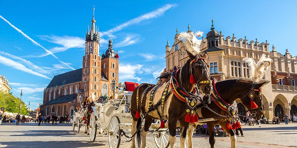 Velkommen til Krakow.