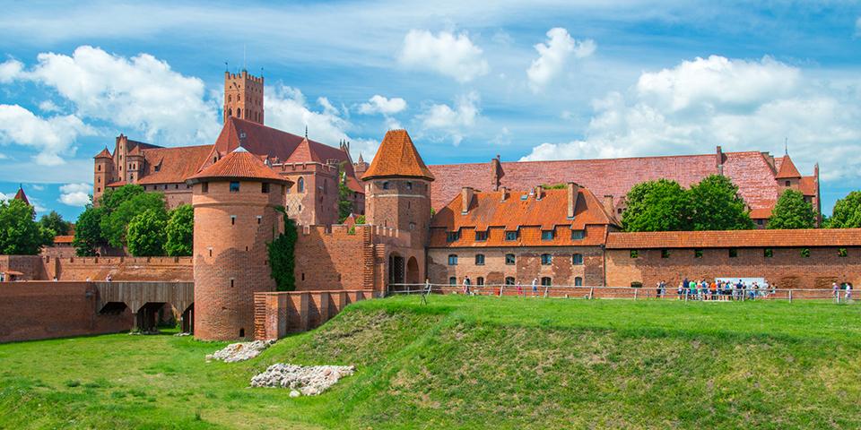Den teutoniske Ridderordens borg, Malbork.