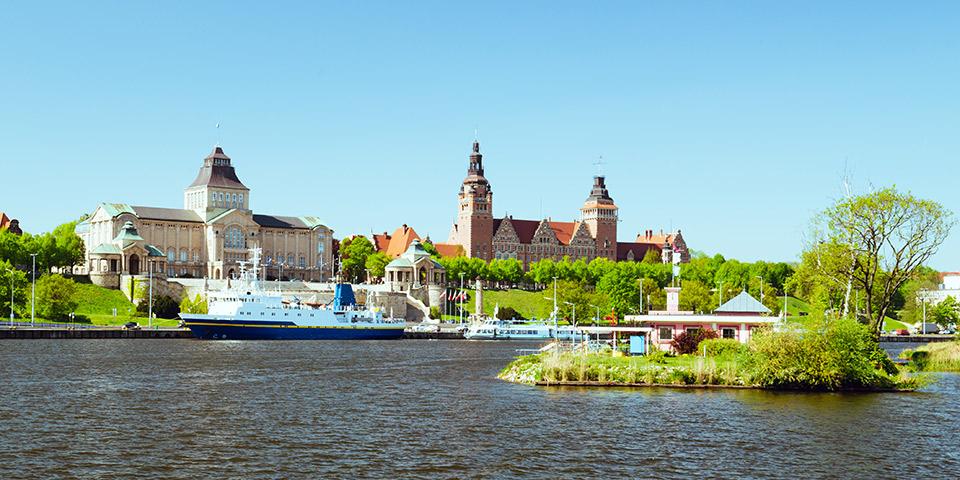 Idylliske Stettin.