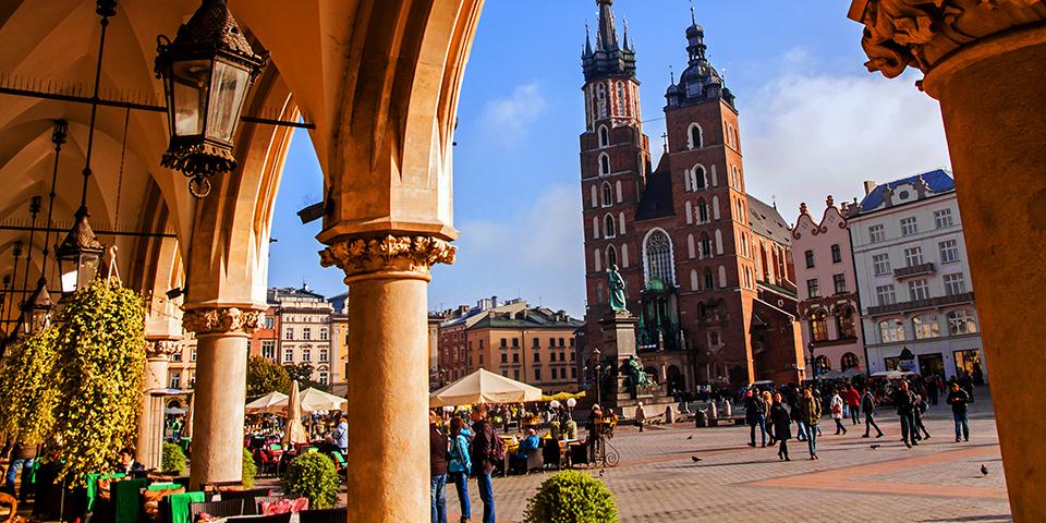 Charmerende Krakow.