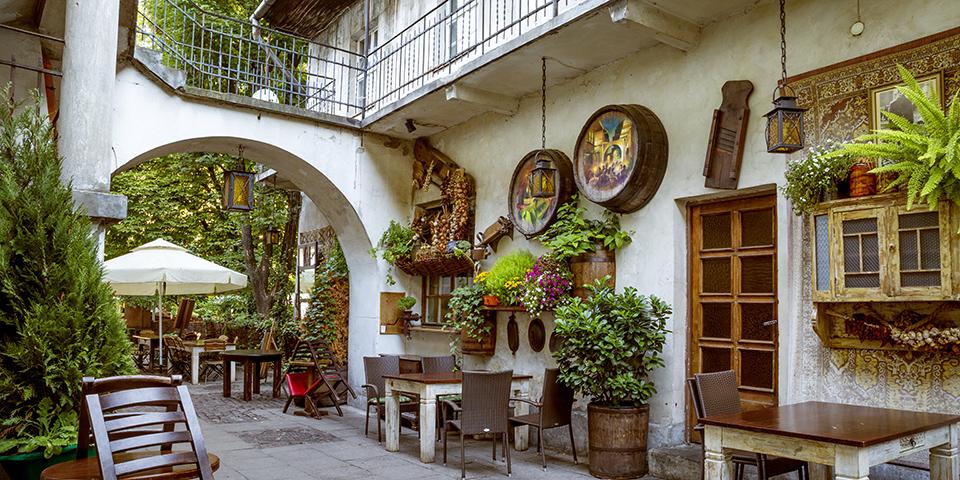 Kazimierz-kvarteret er i dag en af Krakows hippeste bydele.