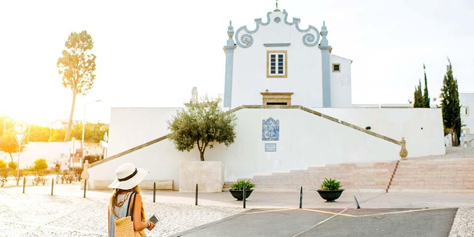 Saint Anna kirken i Albuferia.