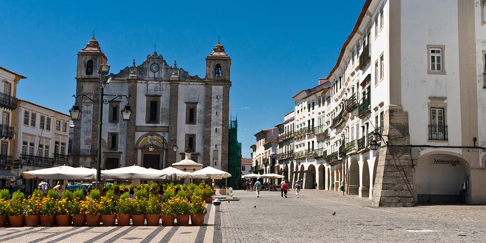 Middelalderbyen Évora.