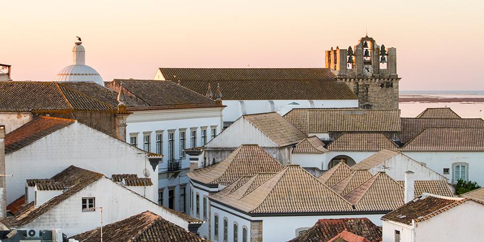 Hustage i Faros stemningsfulde gamle bydel.