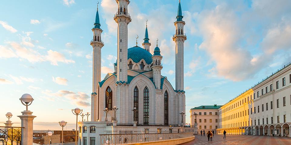 Moské i Kazan.