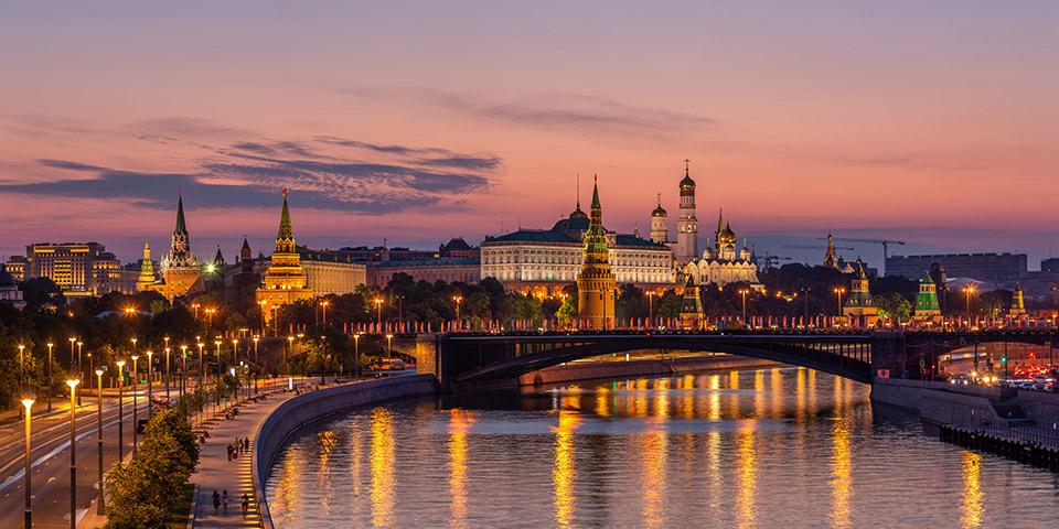 Velkommen til Moskva.