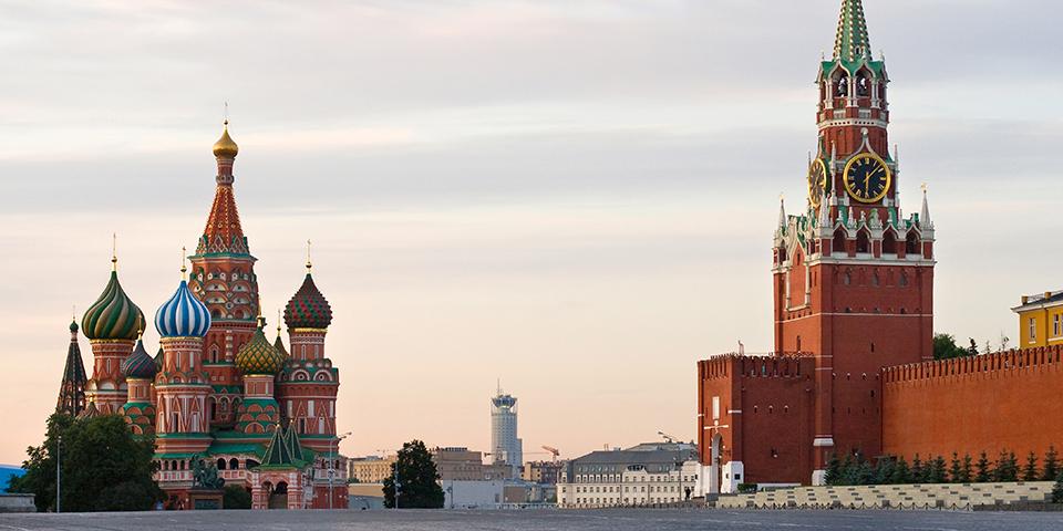 Den Røde Plads i Moskva.