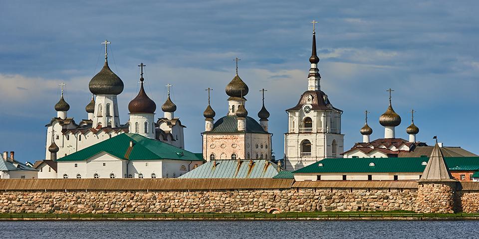 Solovetsky-klosteret.