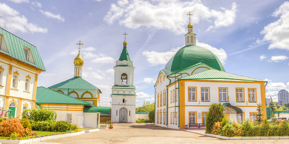 Treenighedsklostret i Tsejboksary.