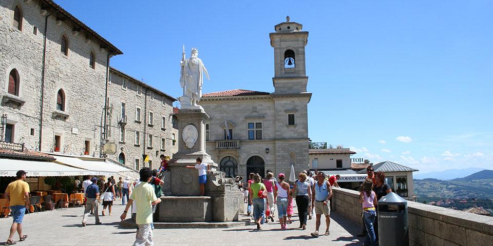 San Marino - verdens femtemindste land.