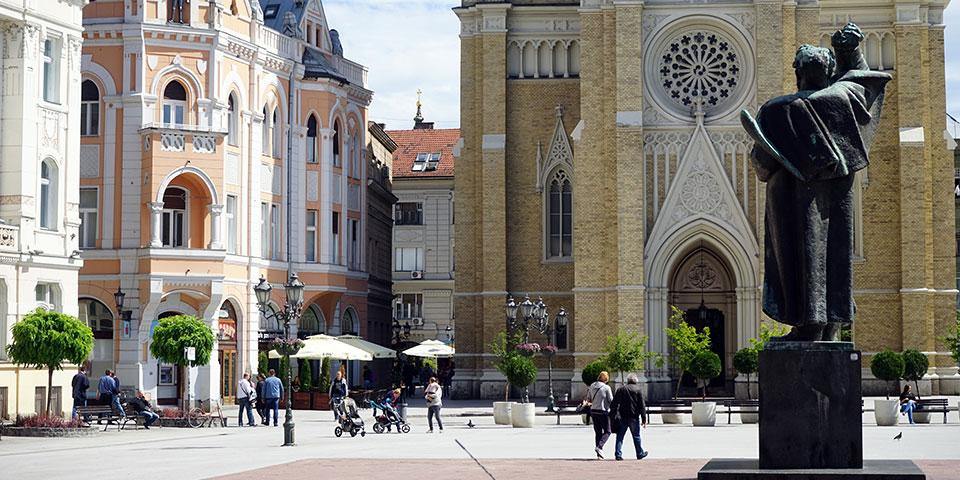Hyggelige Novi Sad.