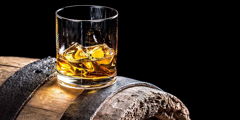 Whiskysmagning på Mull.
